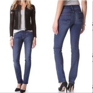 7 For All Mankind Kimmie Straight Leg Jeans 25